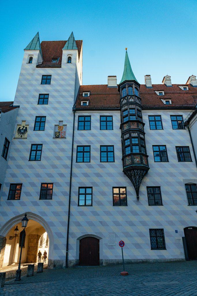 The alter hof castle in Munich, Germany