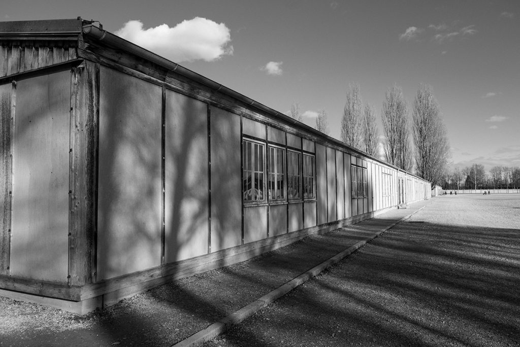 One of the barracks of the Dachau Concentration camp