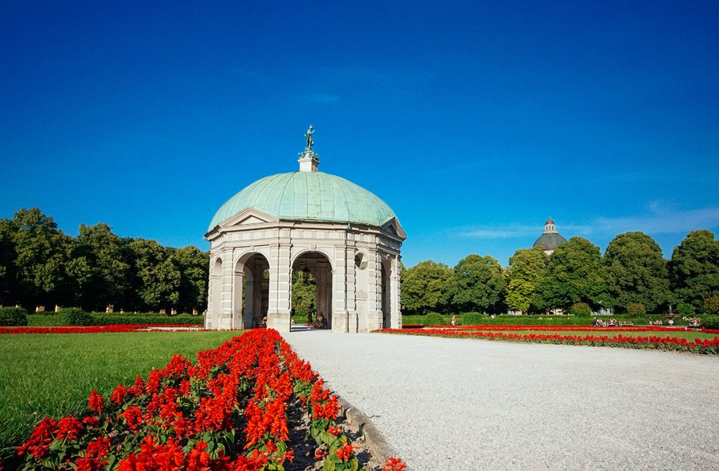 The hofgarten in Munich