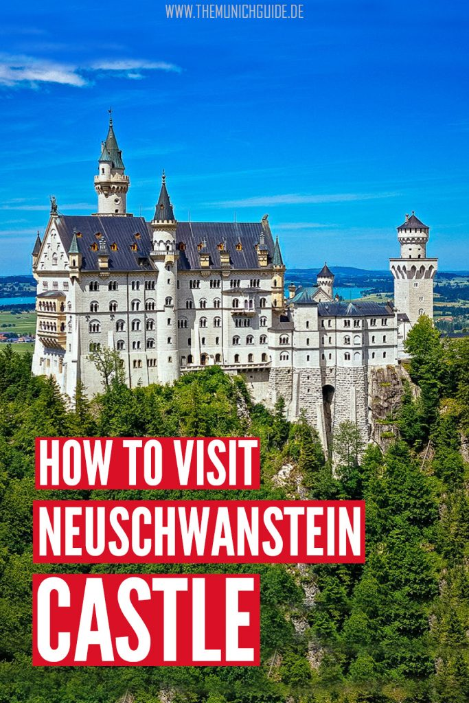 how to get from Munich to Neuschwanstein Castle. The pros and cons of all four options: by bus, train, car, or tour group. Everything you need to know to plan your Neuscheanstein castle tour from Munich | Neuschwanstein day trip from Munich