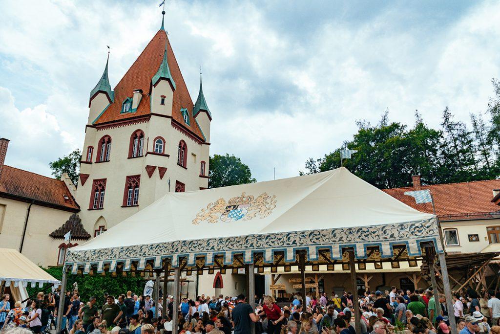 Kaltenberg castle near Munich