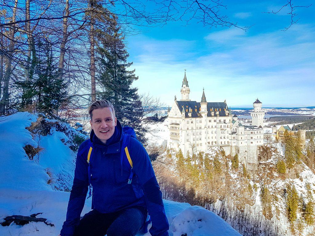Me at Neuschwanstein castle
