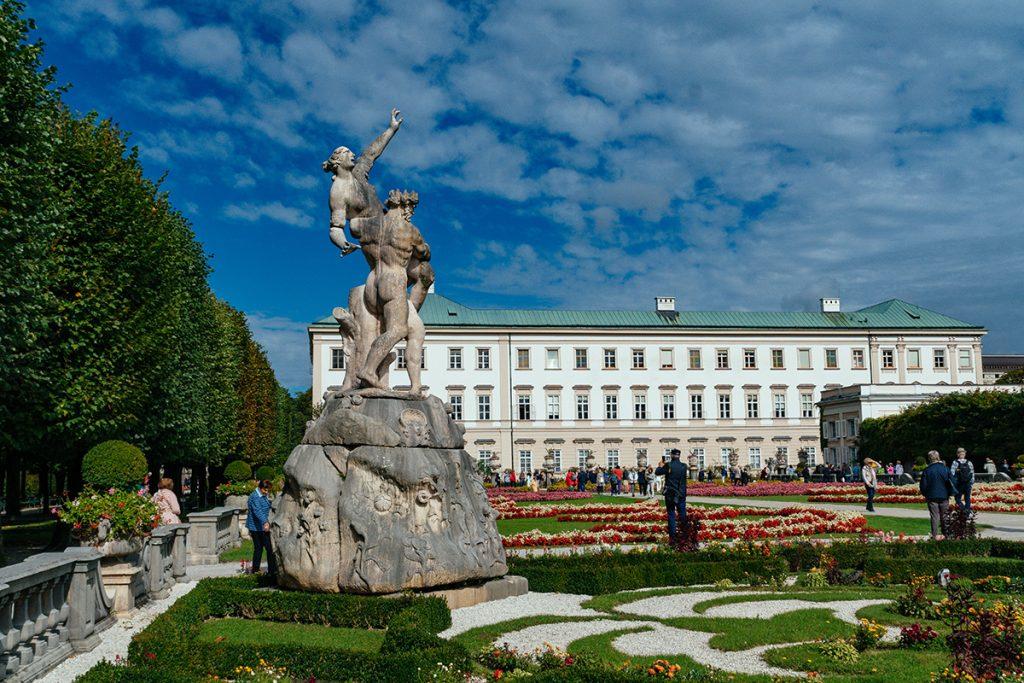 Schloss Mirabell in Salzburg, Austria
