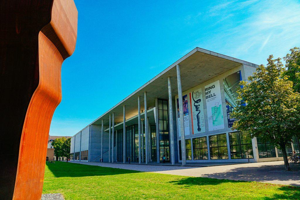 The Pinakothek der Moderne in the Art Quarter of Munich