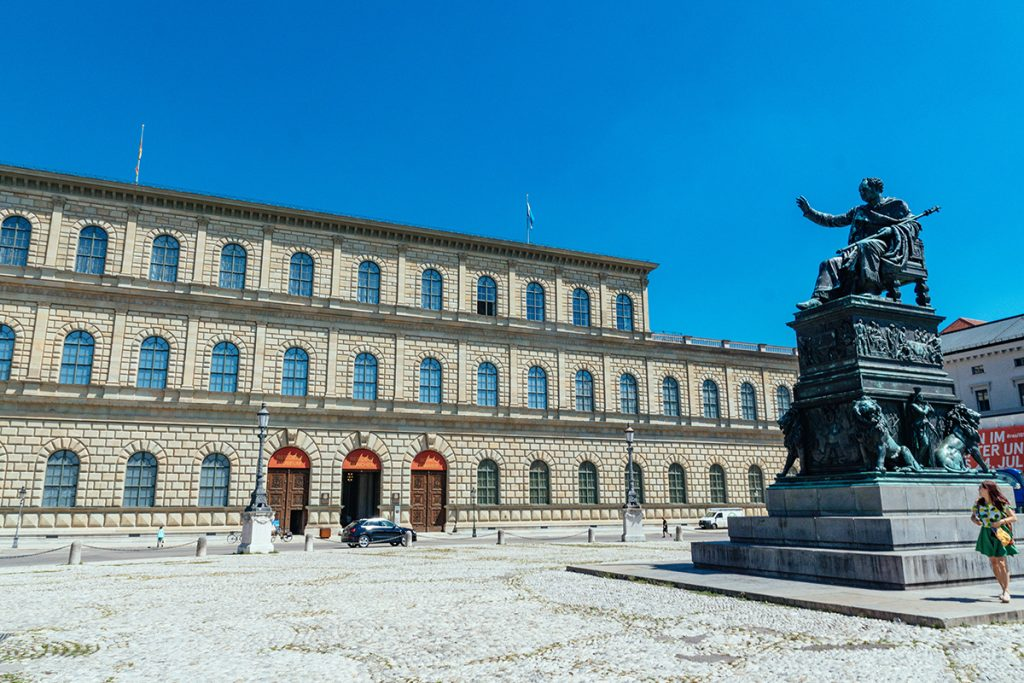 The Munich Residence Palace in the heart of Bavaria's capital