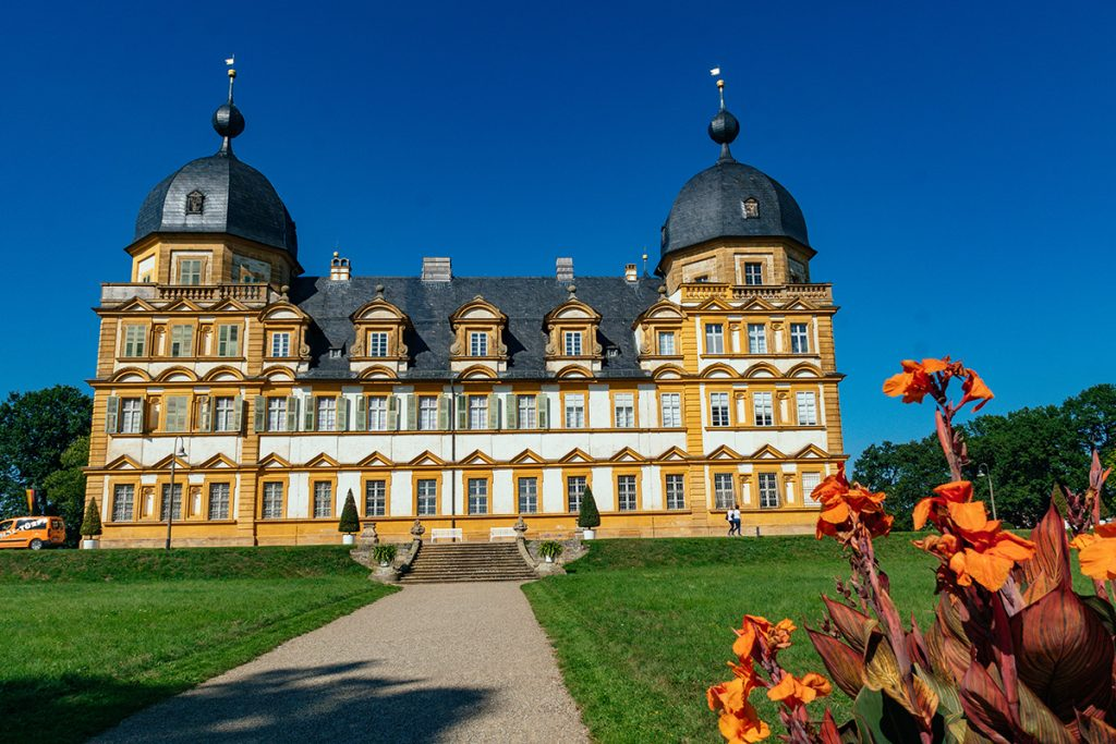 The beautiful Seehof Palace near Bamberg