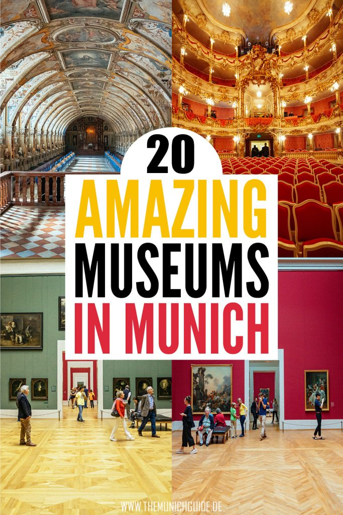 The 20 best museums in Munich, Germany | There are not just art musuems in Munich but also amazing palace museums and techology museums you really have to check out. The best exhibitions and galleries you need to see in bavaria'S capital | Germany travel guide