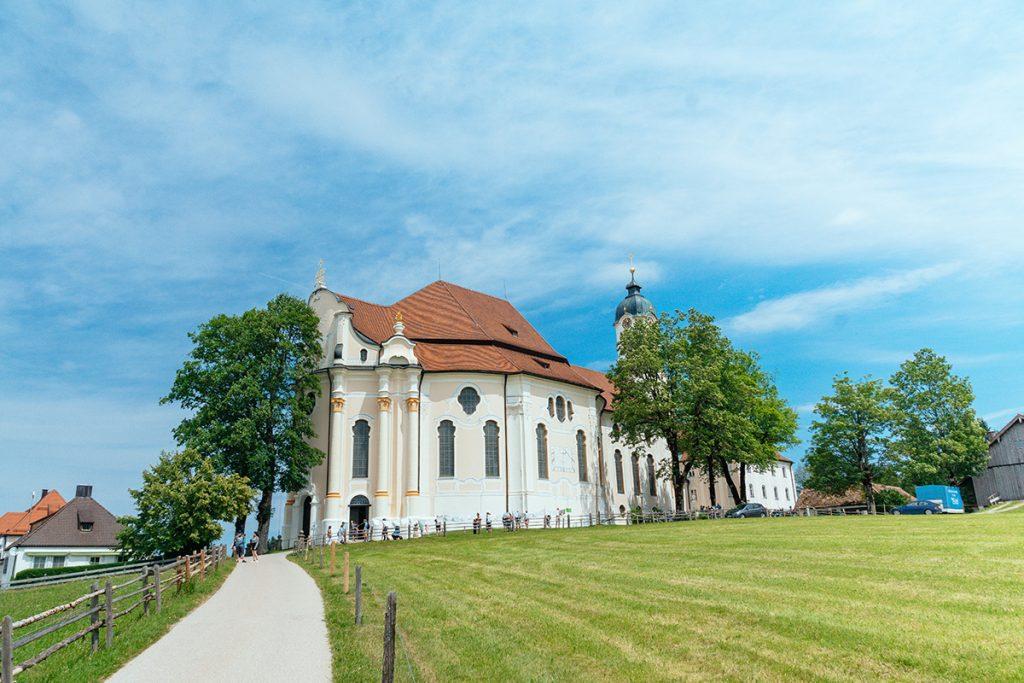 The church of the Wies near Füssen