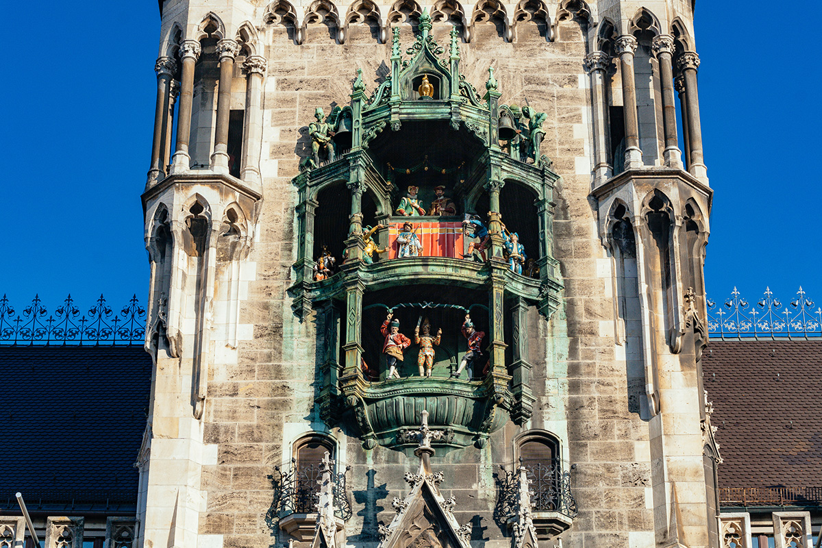 The Munich Glockenspiel in the New Town Hall
