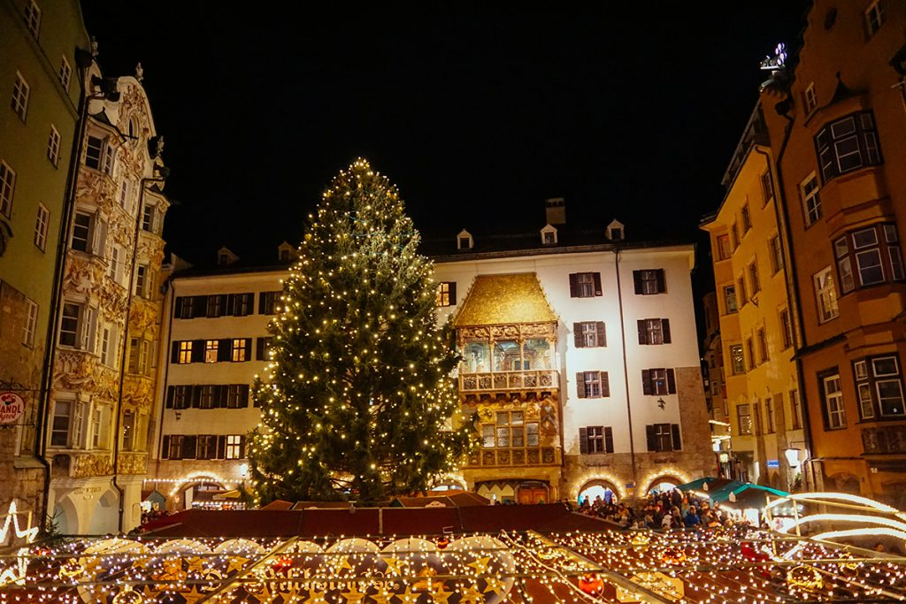 The Christmas Market in Innsbruck, Austria