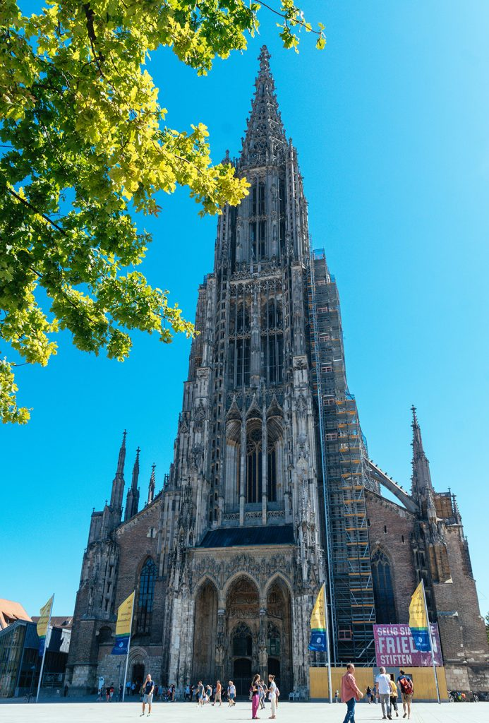 The Ulmer Münster - the highest church tower in the world