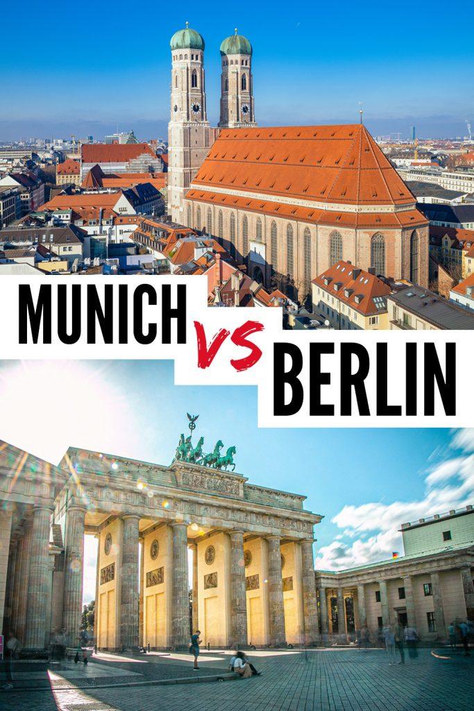 Berlin vs Munich Germany -which city should i visit?