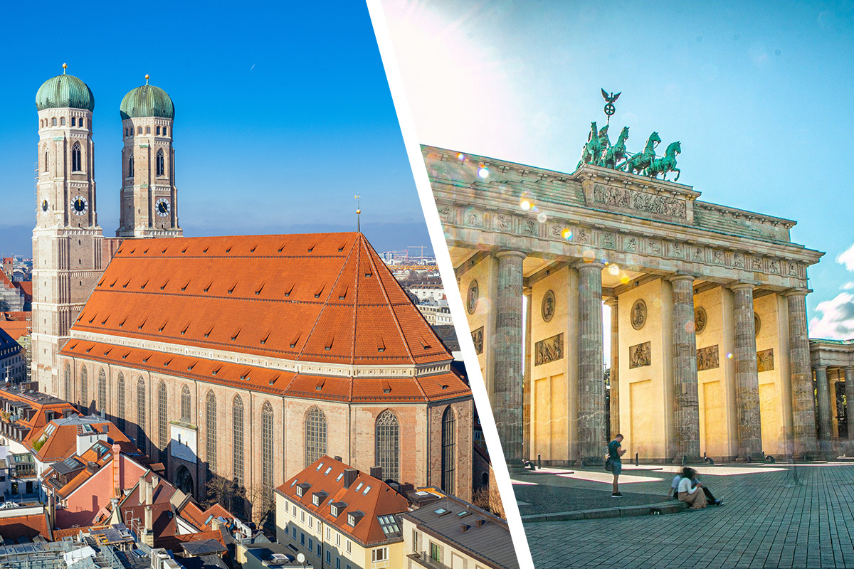 Berlin vs Munich - which city should i visit?