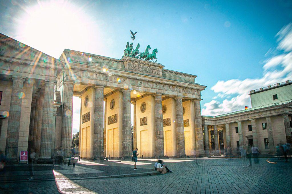 The brandenburger tor in Berlin München
