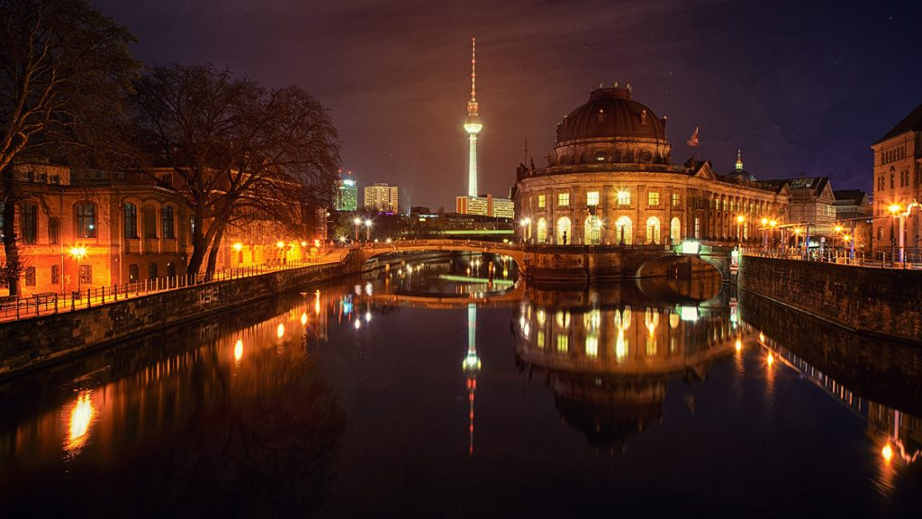 The museum island in Berlin, Germany