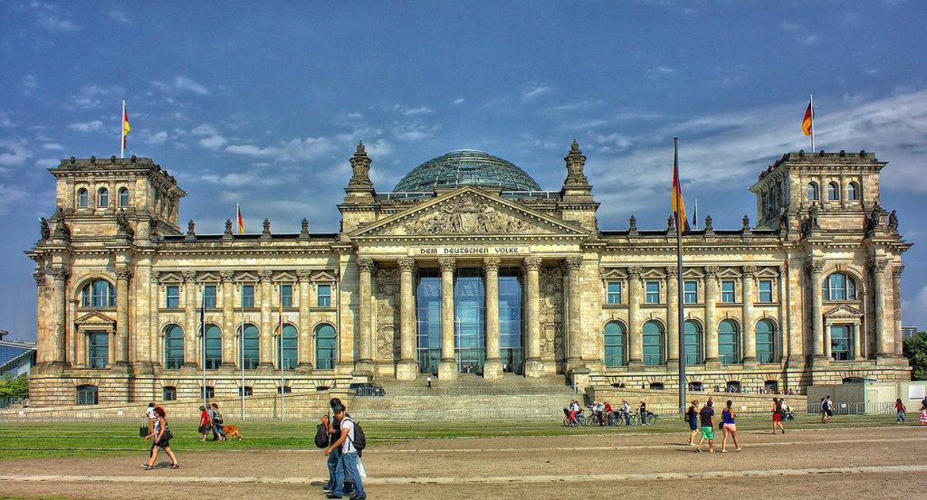 The Reichstag in Berlin - the Germany parliament