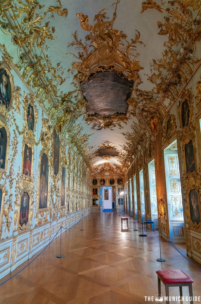 The Ahnengallerie in the Residence palace - one the best instagram spots in Munich