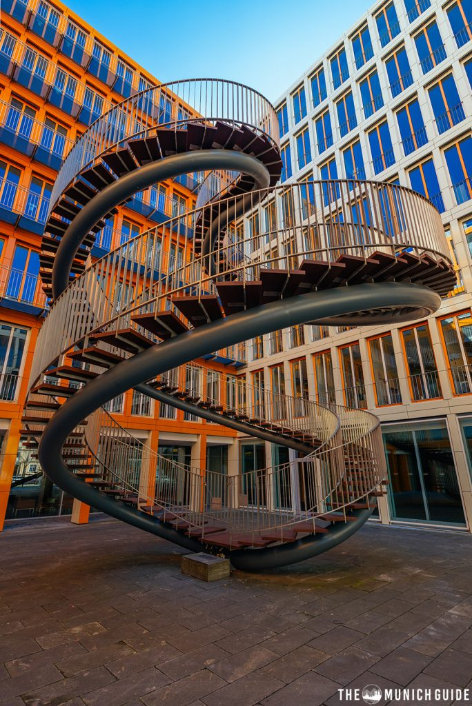 The endless staircase in Munich - one of the best instagram spots