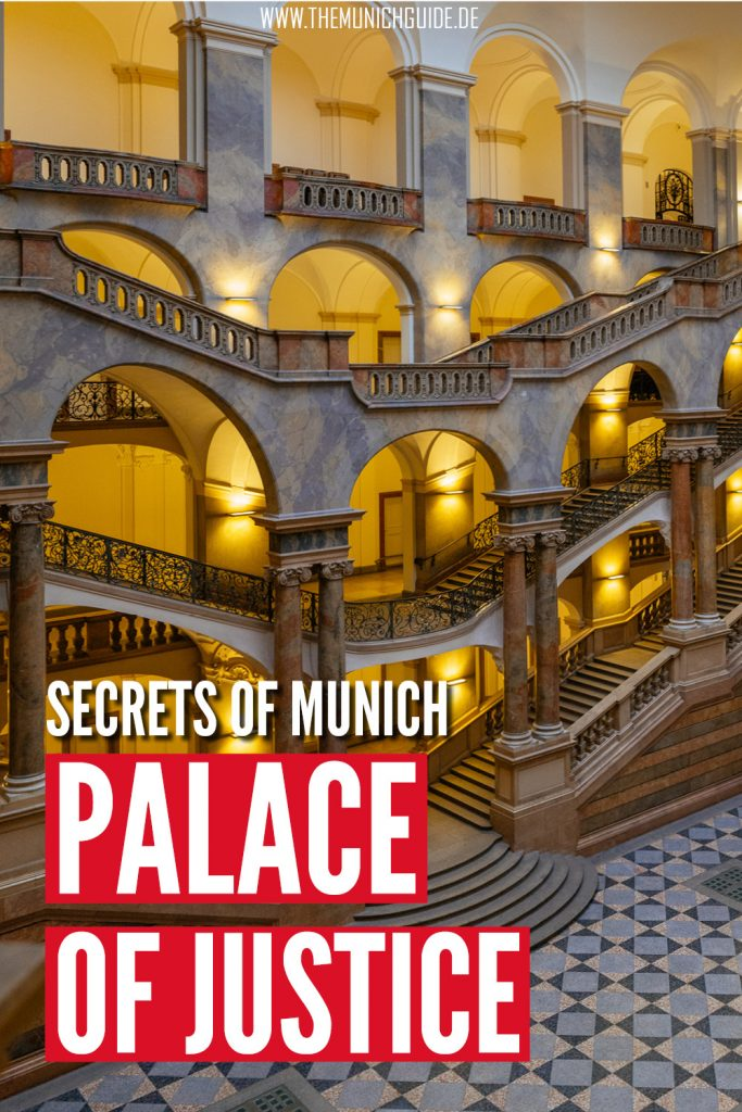 Munich's amazing palace of justice - a travel guide
