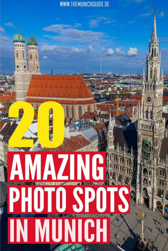 The 20 best instagram spots in Munich, Germany. A local's list to the top photo locations in Munich.