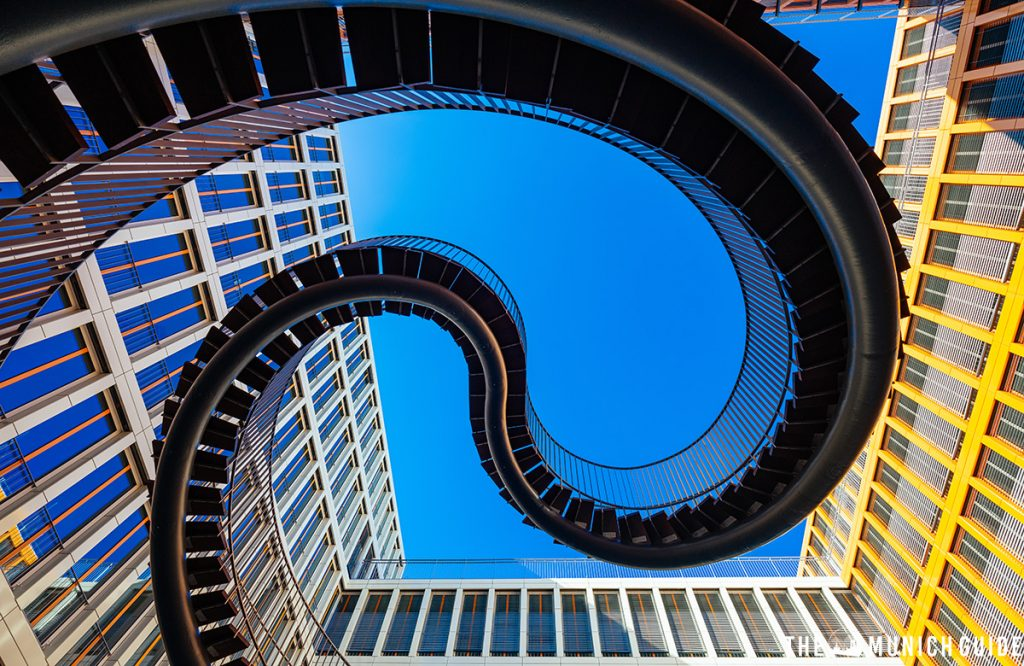 The umschreibung infinite staircase in Munich, Germany